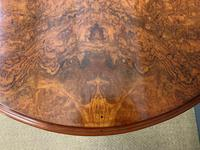 Large Victorian Burr Walnut Sutherland Table (16 of 16)