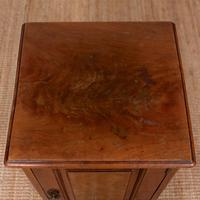 Walnut Bedside Cabinet Victorian (3 of 6)