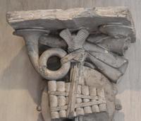 Set of Three Georgian Plaster Wall Brackets (11 of 13)