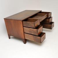 Antique Burr Walnut  Leather Top Desk (2 of 13)