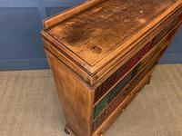 Oak Open Bookcase c.1920 (9 of 12)