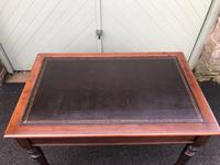 Antique Mahogany Two Draw Writing Table (10 of 11)