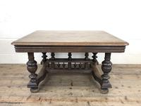 Early 20th Century Antique Oak Coffee Table