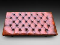 Regency Style Leather Stool (3 of 4)