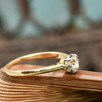 The Vintage Brilliant Cut Diamond Solitaire Ring (2 of 5)