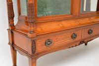 Antique Victorian  Satinwood  Display Cabinet (11 of 13)