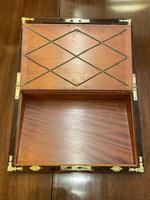Good Quality Rosewood Writing Slope / Box by the Famous Maker William Eyre (8 of 12)