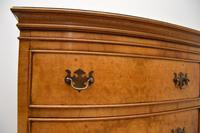 Antique  Georgian Style Burr Walnut Chest on Chest (8 of 11)