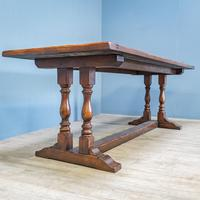 Refectory Table and 8 Ladderback Chairs (5 of 11)