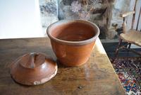 Large 19th Century Terracotta Bread Crock (9 of 10)