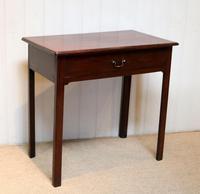 Georgian Mahogany Side Table c.1800 (4 of 9)