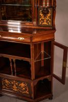 Rosewood Corner Display Cabinet by Gillows (9 of 14)
