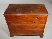 Good George III Period Mahogany Chest of Drawers (5 of 5)