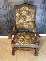 Carved Oak Chair (2 of 19)