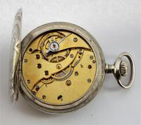 1910s Swiss Pocket Watch, H Perrin, Nevers (5 of 5)
