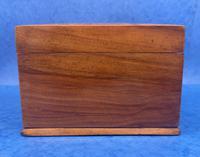 Walnut Jewellery Box c.1900 (5 of 14)