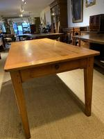 Farmhouse table cherry wood 71 inches long (9 of 11)