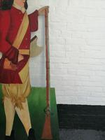 Dummy Board of Soldier in 17th Century Uniform (9 of 10)