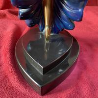 "Erte (romain De Tirtoff) Ltd Edition Bronze Sculpture ""Ecstasy"" 163/500 (16 of 16)"
