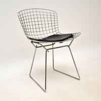 Pair of Vintage Wire Chairs by Harry Bertoia (5 of 10)