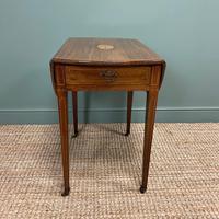 Victorian Mahogany Antique Drop Leaf Table
