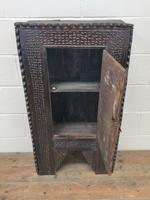 Unusual Antique Carved Side Cupboard (3 of 11)