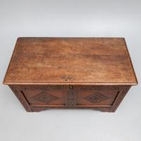 Late 17th Century Oak Coffer (2 of 4)