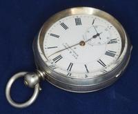 Antique Silver Pocket Watch Keyless Wind Open Face Pocket Watch Kay & Comp (7 of 10)