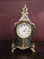 Antique French Boulle 8 Day Mantel Clock (2 of 8)