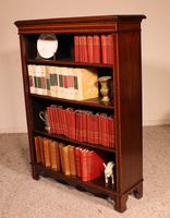 Open Bookcase in Mahogany and Inlays (2 of 13)