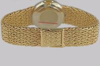 Bueche Girod for Roy King Diamond Bracelet Watch Ladies Vintage 9ct Gold 1.5 carat Diamond Watch Hallmarked 1979 (13 of 19)
