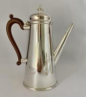 Silver Plated Chocolate Set c.1930 (3 of 8)