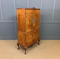 Burr Walnut Cocktail Cabinet (11 of 15)