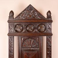 Carved Oak High Backed Side Chair (5 of 9)
