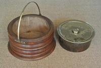 19th Century Dutch Wood & Brass Foot Carriage Warmer Hot Water Bottle (4 of 6)