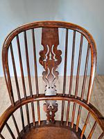 19th Century Yew Wood Windsor Chair (3 of 4)