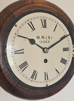 Eight Day Fusee British Rail Railway Clock (6 of 9)