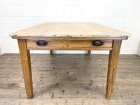 Victorian Pine Scrub Top Farmhouse Table (5 of 10)