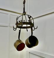 Blacksmith Made Iron Game Hanger, Kitchen Utensil or Pot Hanger (2 of 5)