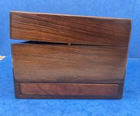 Victorian Rosewood Jewellery Box with Side Drawer (12 of 12)