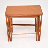 Danish Vintage Teak Nest of Tables by Grete Jalk (6 of 11)