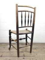 Set of Four 19th Century Elm Country Chairs (13 of 13)