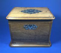 Victorian Olive Wood Jewellery Box