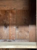 Wonderful French Empire Period Bleached Oak Linen Press (22 of 32)