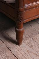 Lovely French Cherry King Size Bed with Simple Carvings (6 of 9)