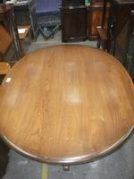Large Ercol Pedestal Dining Table (2 of 3)