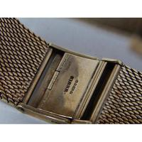 9ct Gold Gentleman's Wristwatch on 9ct Gold Bracelet by Marvin (5 of 7)