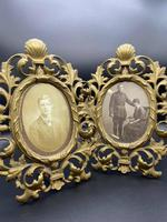 Pair of Large Victorian Gilt Picture Frames (7 of 8)