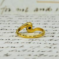 The Vintage 1968 Illusion Solitaire Diamond Ring (6 of 6)
