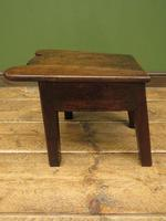 Unusual Antique Victorian Stool, Cobblers Stool, Milking Stool, Farriers Stool (9 of 12)